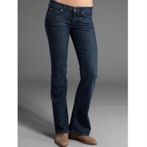 7FAMK The Lexie Petite Dark Wash Bootcut Jeans